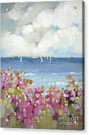 Nantucket Sea Roses Acrylic Print