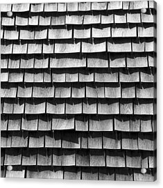 Nantucket Shingles Acrylic Print