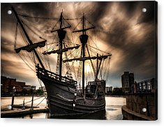 Nao Victoria In Hdr Acrylic Print by Michael White