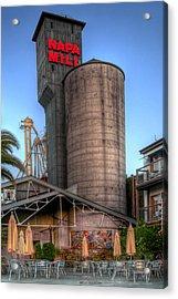 Napa Mill II Acrylic Print by Bill Gallagher