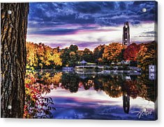 Naperville In Autumn Acrylic Print by Anthony Citro