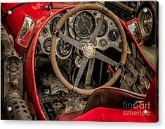 Napier Bentley Cockpit  Acrylic Print