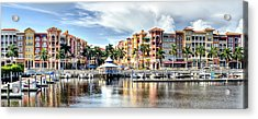 Naples Bayfront Acrylic Print