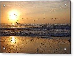 Naples Beach Acrylic Print
