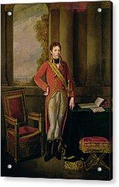 Napoleon Bonaparte 1769-1821 As First Consul, 1799-1805 Oil On Canvas Acrylic Print