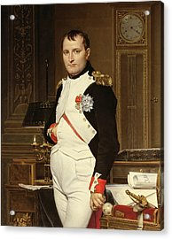 Napoleon Bonaparte In His Study Acrylic Print
