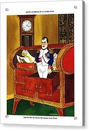 Napoleon Dans Son Bureau Apres Jacques-louis David Acrylic Print