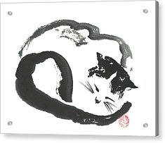 Napping Neko Acrylic Print