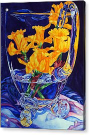 Narcisses Dans Un Vase From Master Class Acrylic Print