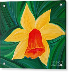 Narcissus Diva By Jrr Acrylic Print by First Star Art