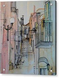 narrow Italy album Acrylic Print