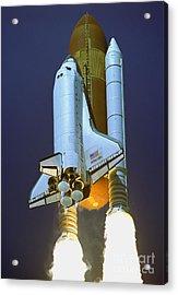 Nasa Atlantis Launch 2 Acrylic Print by Rod Jones