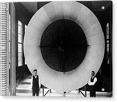 Nasa's First Wind Tunnel Acrylic Print