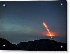Nasas Insight Spacecraft Launches From Acrylic Print
