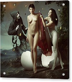 Nascita Di Venere Acrylic Print