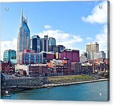 Nashville Blues Acrylic Print by Frozen in Time Fine Art Photography