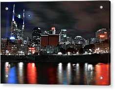 Nashville Dark Knight Acrylic Print by Frozen in Time Fine Art Photography