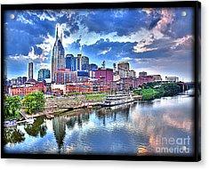 Nashville Acrylic Print by Jennifer Pinckney