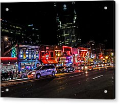Nashville Acrylic Print by Jessica Stiles