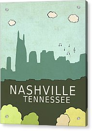 Nashville Acrylic Print by Lisa Barbero