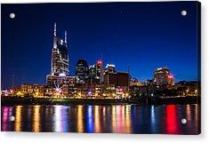 Nashville Magic Hour  Acrylic Print