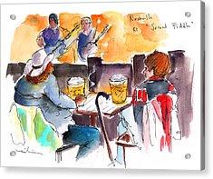 Nashville Nights 04 Acrylic Print by Miki De Goodaboom