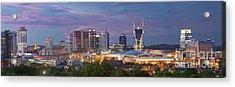 Nashville Skyline Acrylic Print by Brian Jannsen