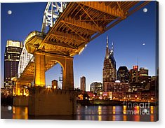Nashville Tennessee Acrylic Print by Brian Jannsen