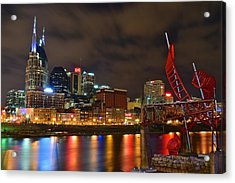 Nashvilles Ghost Ballet Acrylic Print by Frozen in Time Fine Art Photography