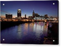 Nashville's River Acrylic Print