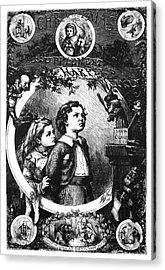 Nast Christmas, 1870 Acrylic Print by Granger