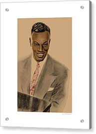 Nat King Cole Acrylic Print