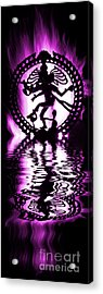 Nataraja The Lord Of Dance Acrylic Print by Tim Gainey