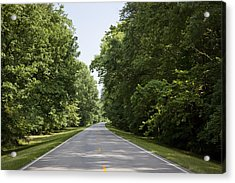 Natchez Trace Parkway In Cobert County Acrylic Print
