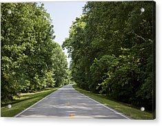 Natchez Trace Parkway In Cobert County Acrylic Print by Carol M Highsmith