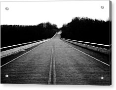 Natchez Trace Parkway  Acrylic Print by Krista Sidwell