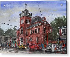 Natchitoches Parish Courthouse Acrylic Print