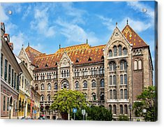 National Archives Of Hungary Acrylic Print by Artur Bogacki