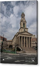 National City Christian Church Acrylic Print