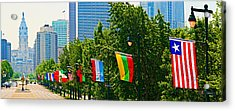 National Flags Of The Countries Acrylic Print by Panoramic Images