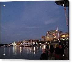 National Harbor - 121223 Acrylic Print by DC Photographer
