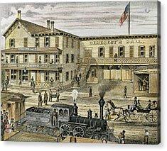 National Hotel  Warwick, 1875 New York Acrylic Print