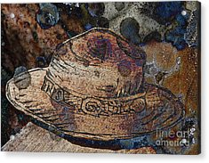 National Park Service Ranger Hat Acrylic Print by John Stephens