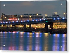 Acrylic Print featuring the photograph Nationals Park by Jerry Gammon