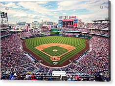 Nationals Park Acrylic Print by Malcolm MacGregor