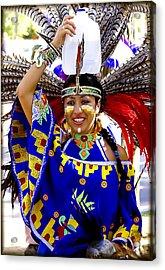 Native American Beauty Acrylic Print