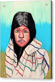 Native American Girl 1 Acrylic Print