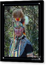 Native American Portrait Acrylic Print