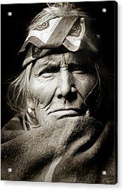 Native American Zuni -  Si Wa Wata Wa  Acrylic Print by Jennifer Rondinelli Reilly - Fine Art Photography