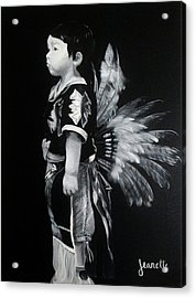Native Boy Acrylic Print